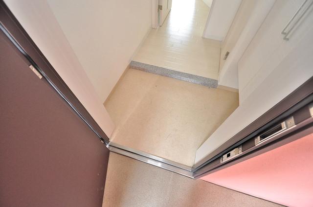TSカーサテルッツオ 玄関口が大きいので、とても解放感があります。