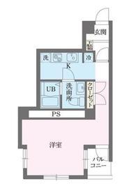 共栄町田ビル2階Fの間取り画像