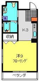 アンシャンテ3階Fの間取り画像
