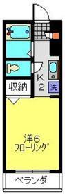 サンクレージュ横浜片倉町3階Fの間取り画像
