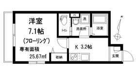 メゾン j j3階Fの間取り画像
