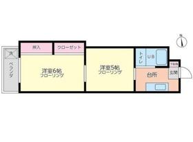 YMDマンション3階Fの間取り画像