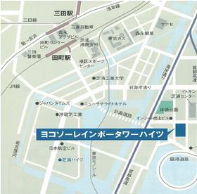 ヨコソーレインボータワーハイツ案内図