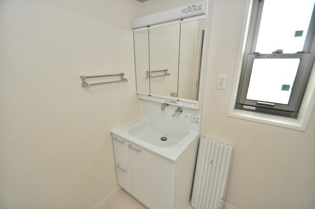 シャーメゾンアマヤハイツ 忙しい朝にあなたを手助けしてくれる素敵な洗面台。