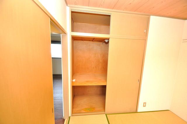 サンビレッジ・デグチ コンパクトながら収納スペースもちゃんとありますよ。