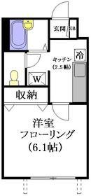 ドムス東高円寺1階Fの間取り画像
