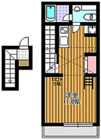 プルクワ2階Fの間取り画像