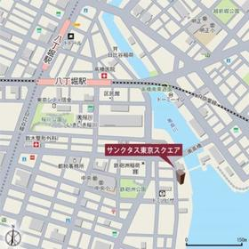 サンクタス東京スクエア案内図