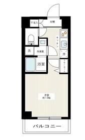 MAXIV武蔵新城2階Fの間取り画像