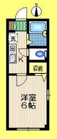 ソレアードSEKIGUCHI 3階Fの間取り画像