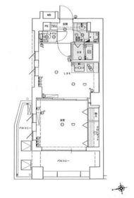 ファーストクラス横濱第2 3階Fの間取り画像