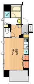 アトラス駒沢大学4階Fの間取り画像