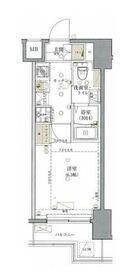 グロース西横浜II5階Fの間取り画像