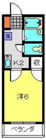 大倉山駅 徒歩24分3階Fの間取り画像
