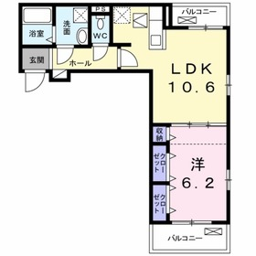 アイヴィレッジⅢ3階Fの間取り画像