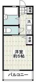 G・Aヒルズ鶴ヶ峰2階Fの間取り画像