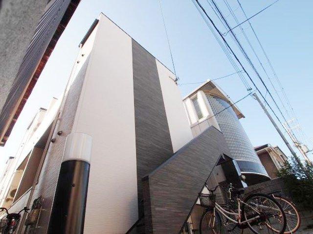 堺市堺区賑町2丁の賃貸アパートの外観