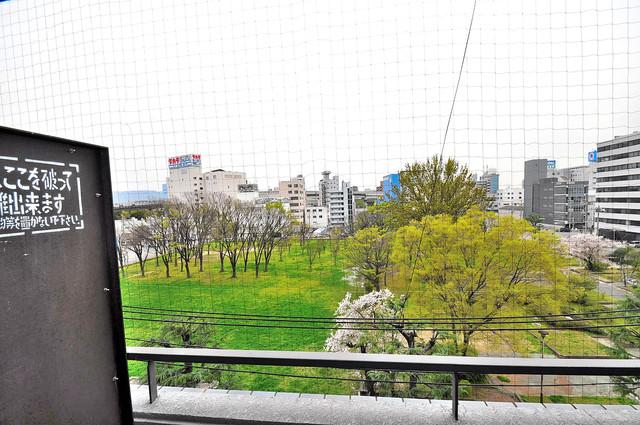 エクセルシオール長田 この見晴らしが日当たりのイイお部屋を作ってます。