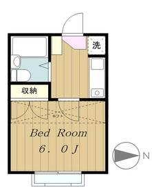 稲城駅 徒歩4分3階Fの間取り画像