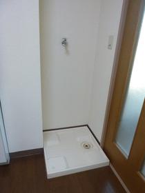 室内洗濯機置き場が便利ですね。