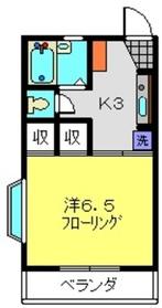 ラビットアイ3階Fの間取り画像