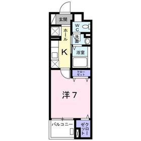 豊田駅 徒歩11分2階Fの間取り画像