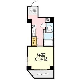 セイコーガーデンⅢ3階Fの間取り画像