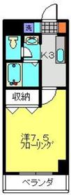 日吉A-Ⅲ1階Fの間取り画像