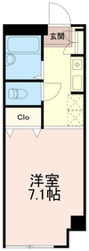サンシャイン稲城2階Fの間取り画像
