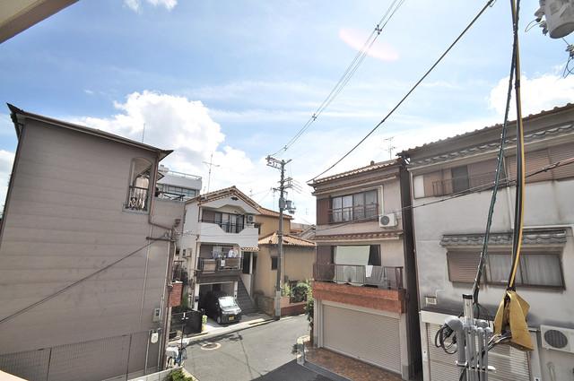 ヴェルドミール小阪 この見晴らしが日当たりのイイお部屋を作ってます。
