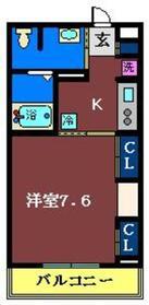 リブリ・滝台1階Fの間取り画像