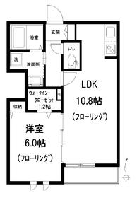 SEIS神楽坂1階Fの間取り画像