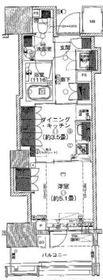 パークホームズ横濱関内3階Fの間取り画像