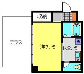 プライム横浜1階Fの間取り画像