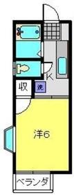 戸部駅 徒歩28分1階Fの間取り画像