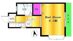 中野島駅 徒歩5分1階Fの間取り画像
