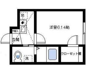 エスポワール杉田1階Fの間取り画像