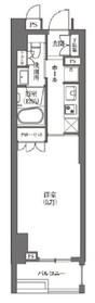 HAMACHO APARTMENTS2階Fの間取り画像