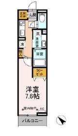 グレーヌメゾン1階Fの間取り画像