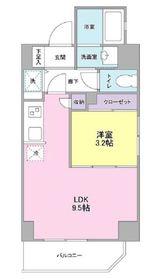 ルジェンテ・バリュ横濱反町3階Fの間取り画像