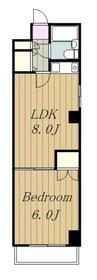 ライオンズマンション相模台第23階Fの間取り画像