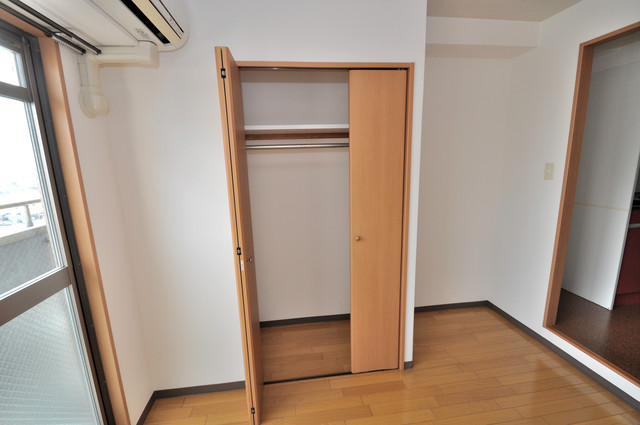 ラ・フォンテ今里 もちろん収納スペースも確保。おかげでお部屋の中がスッキリ。