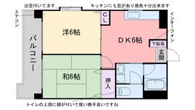 エクメーネ室見2階Fの間取り画像