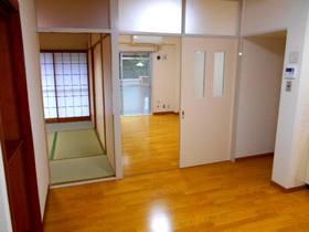 DKと南面の洋室と和室