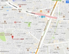 椎名町駅 徒歩9分案内図