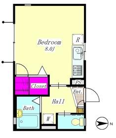 ウィル仲六郷 102号室