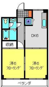 TAハウス2階Fの間取り画像