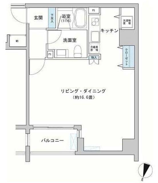 神田駅 徒歩4分間取図