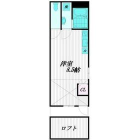 Maison de CiEL2階Fの間取り画像