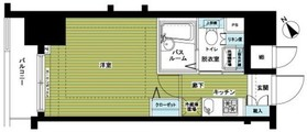 トーシンフェニックス新横濱イクシール8階Fの間取り画像